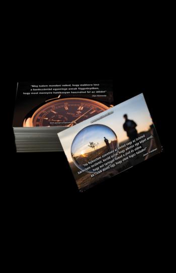 Motivációs Idézetkártya - 12 Hónap 12 Motiváció 2019-re