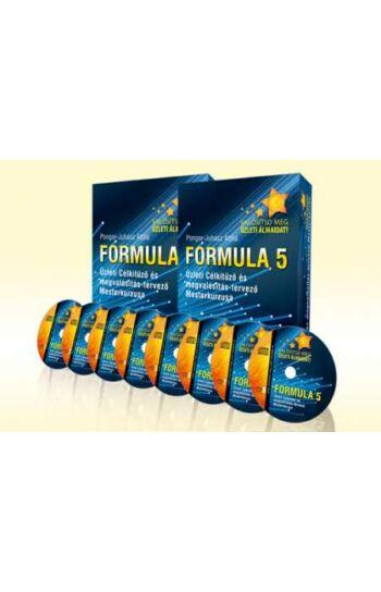 Formula 5 - Üzlet Célkitűző és Megvalósítás-Tervező Mesterkurzus