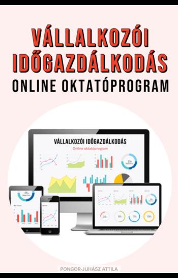 PJA Vállalkozói Időgazdálkodás Online Oktatóprogram